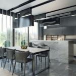 Дизайн домов и коттеджей в стиле хай-тек - 5