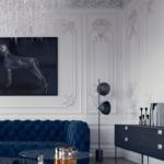 Дизайн квартир в классическом стиле - 2