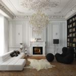 Дизайн квартир в стиле неоклассицизм - 5