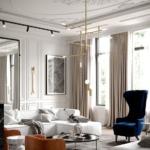 Дизайн домов и коттеджей в стиле неоклассицизм - 6