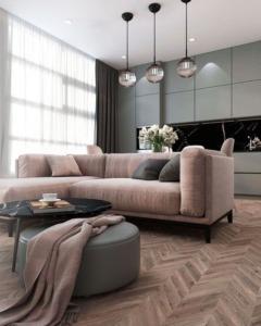Дизайн двухкомнатной квартиры - 4