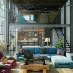 Дизайн домов и коттеджей в стиле лофт - 2